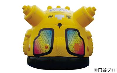 ●キングジョーふわふわ(ドーム型)●サイズ:W5.8m×D6.5m×H5.2m電源:AC100V.15A×1